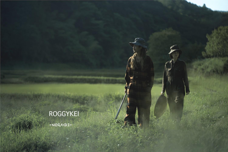 """(JP) ROGGYKEI """"NORAGI"""" COLLECTION in KYOTO"""